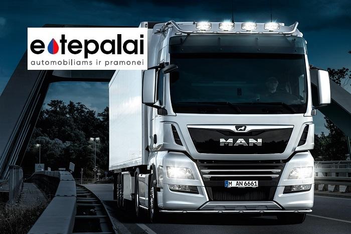 MAN sunkvežimiams, autobusams ir kitoms komercinėms transporto priemonėms rekomenduojame Mobil Delvac ™ sintetines alyvas