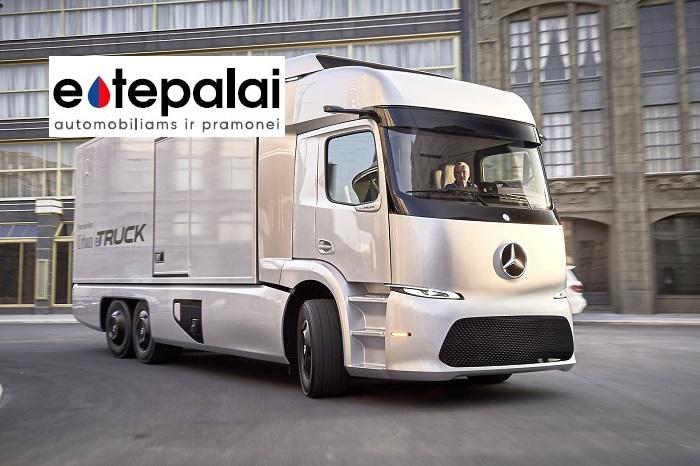 Mercedes-Benz sunkvežimių ir komercinių furgonų alyvos