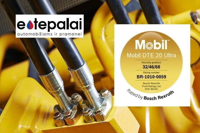 Mobil DTE™ 20 Ultra hidraulinės alyvos