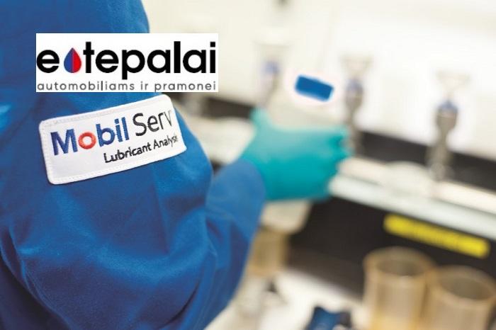 Naujas MSLA alyvos mėginių laboratorijos adresas, Mobil Serv Laboratory alyvos tyrimai ir tepalų analizė