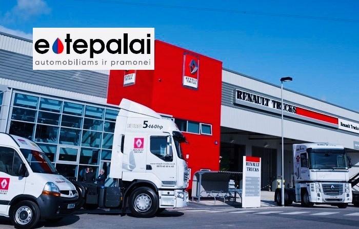 Renault sunkvežimių ir vilkikų variklinės alyvos ir specifikacijos