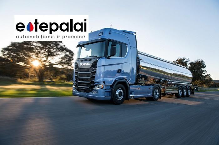 Scania sunkvežimių alyvos ir specifikacijos